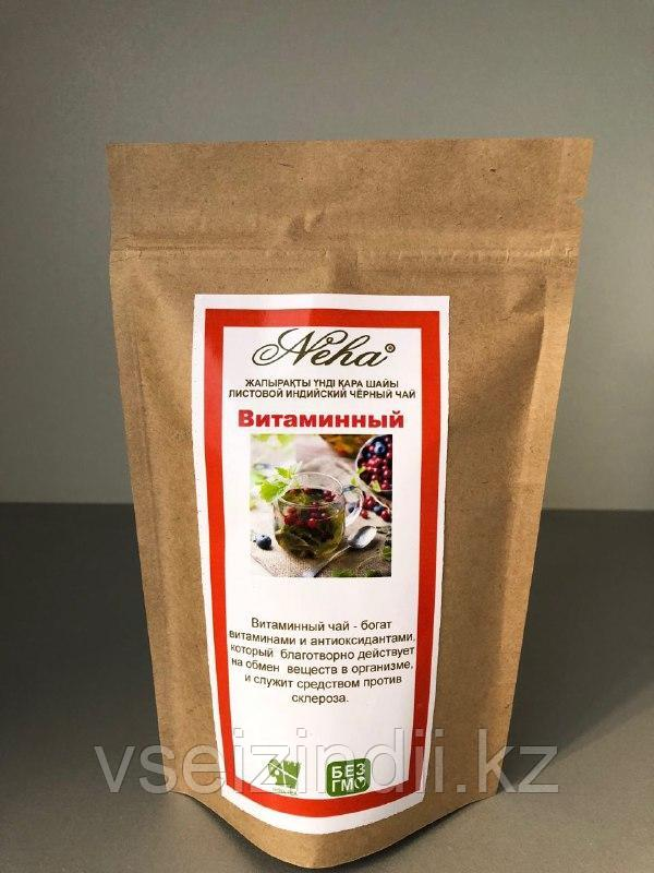 Чай с добавками черный, витаминный, 100гр