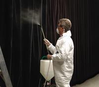 Огнезащитная обработка ткани и аналогичных материалов