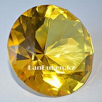 Сувенир из камня, сувенир кристалл желтый 20 гр