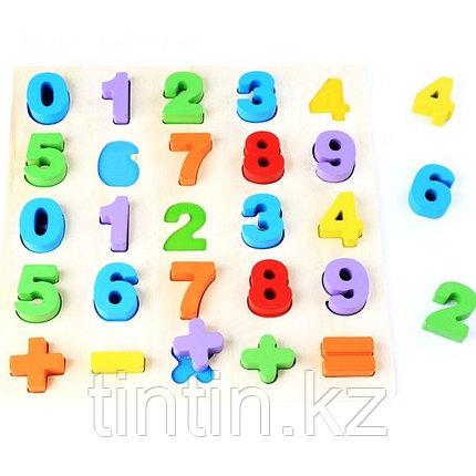Деревянные вкладыши - цифры, фото 2