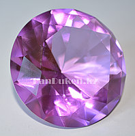 Сувенир из камня, сувенир кристалл сиреневый 20 гр