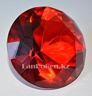 Сувенир из камня, сувенир кристалл красный 20 гр