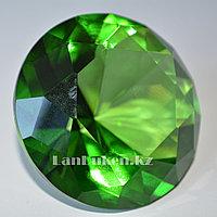 Сувенир из камня, сувенир кристалл ярко-зеленый 20 гр