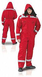 Зимний огнеупорный костюм (Зимняя спецодежда)