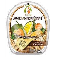 Ассорти из сушеных тайских фруктов Benefruit Assorted Dried Fruit 100 гр