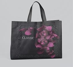 Сумка для покупок «Классик», отдел без молнии, цвет чёрный