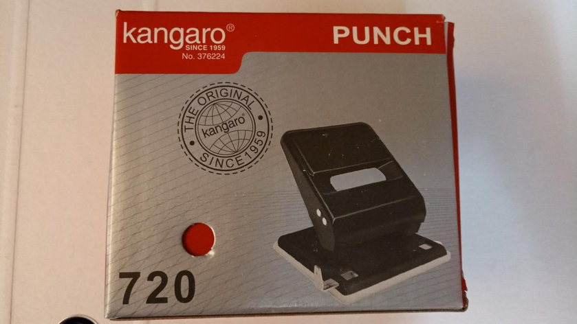 Дырокол Kangaro 36 л., фото 2