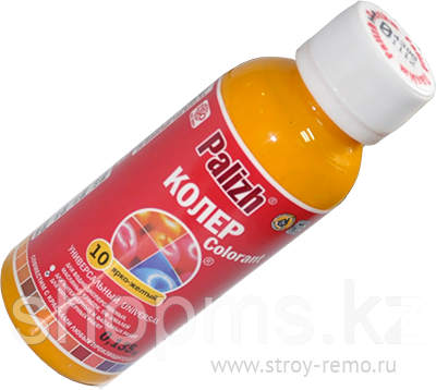 Паста колер № 10 ПалИж/ярко-желтый *0,1л, фото 2