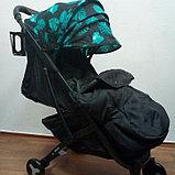 Коляска Mstar (Baby Grace) с чехлом на ножки Лепестки, фото 2