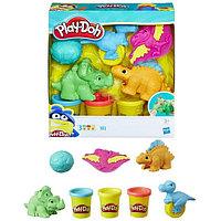 Hasbro Play-Doh E1953 Плей-До Малыши-Динозаврики, фото 1