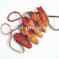 Отрубленные пальцы на веревке - украшение на Хэллоуин (Halloween)