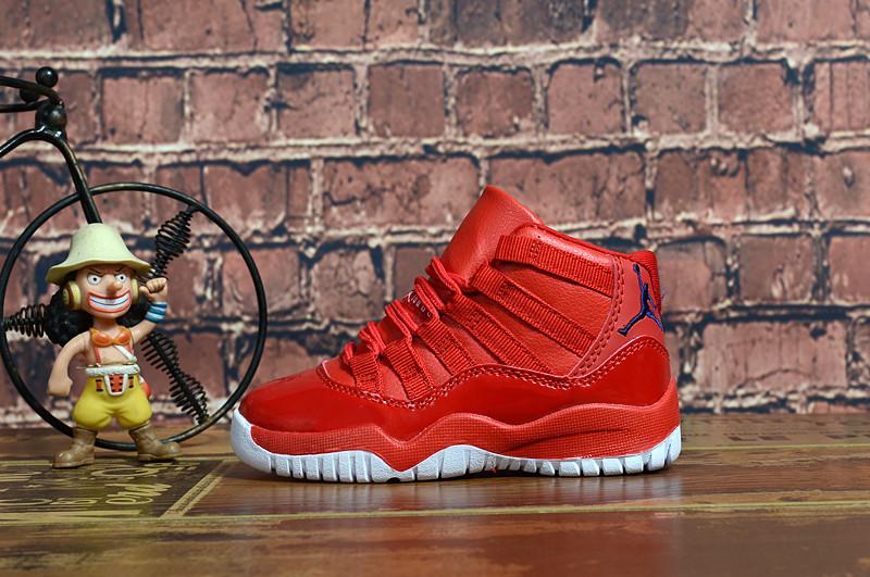 Детские баскетбольные кроссовки Nike Air Jordan XI (11) Retro