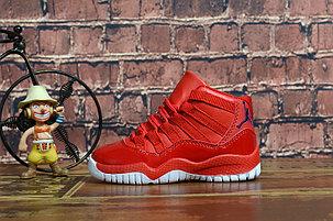 Детские баскетбольные кроссовки Nike Air Jordan XI (11) Retro , фото 2