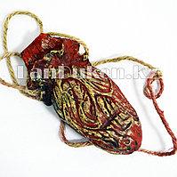 Кровавое сердце на веревке - украшение на Хэллоуин (Halloween)