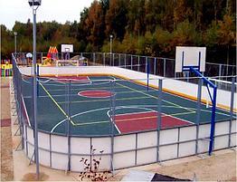 Хоккейная коробка. Производство и продажа