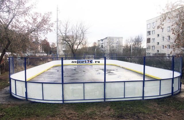 Оборудование для хоккея, хоккейные коробки, борта