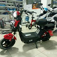 Электромотоцикл с мощностью мотора  350w. Электроскутер.