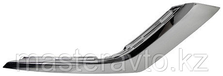 Накладка бампера нижняя хром RH MITSUBISHI OUTLANDER 15- NEW
