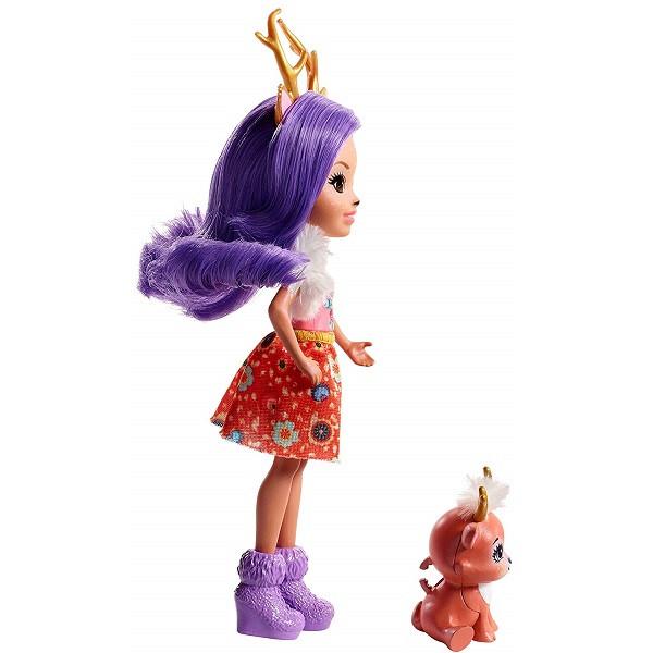 Mattel Enchantimals FNH23 Кукла Данесса Оления, 15 см - фото 1