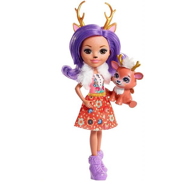 Mattel Enchantimals FNH23 Кукла Данесса Оления, 15 см - фото 3