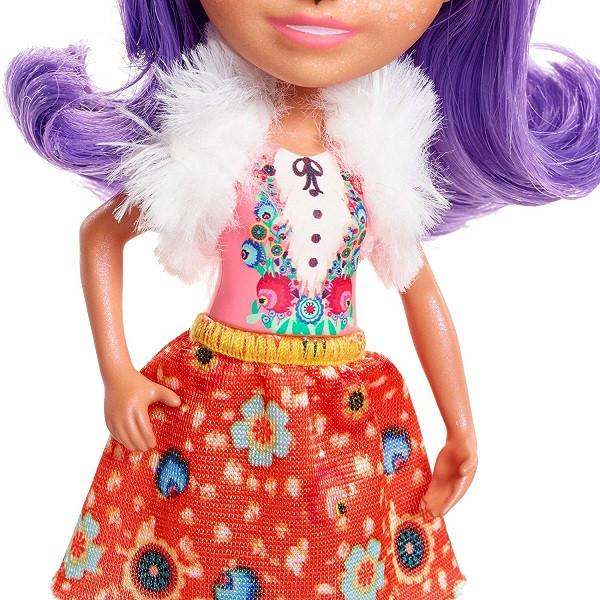 Mattel Enchantimals FNH23 Кукла Данесса Оления, 15 см - фото 5