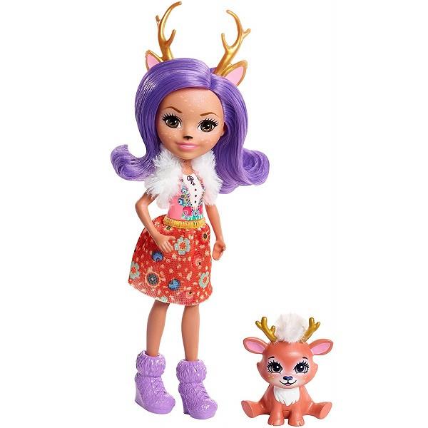 Mattel Enchantimals FNH23 Кукла Данесса Оления, 15 см - фото 6