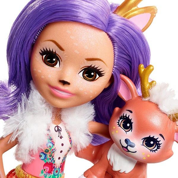 Mattel Enchantimals FNH23 Кукла Данесса Оления, 15 см - фото 7