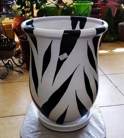 Керамический горшок для цветов. Объем: 4л., фото 2