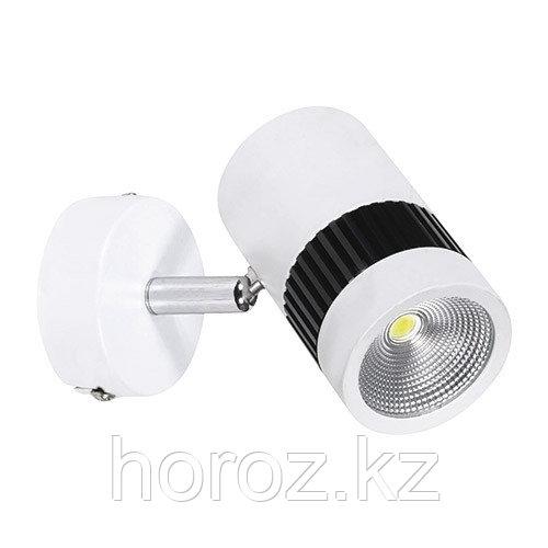 Светодиодный направляющийся светильник спот 8 Вт (накладной)