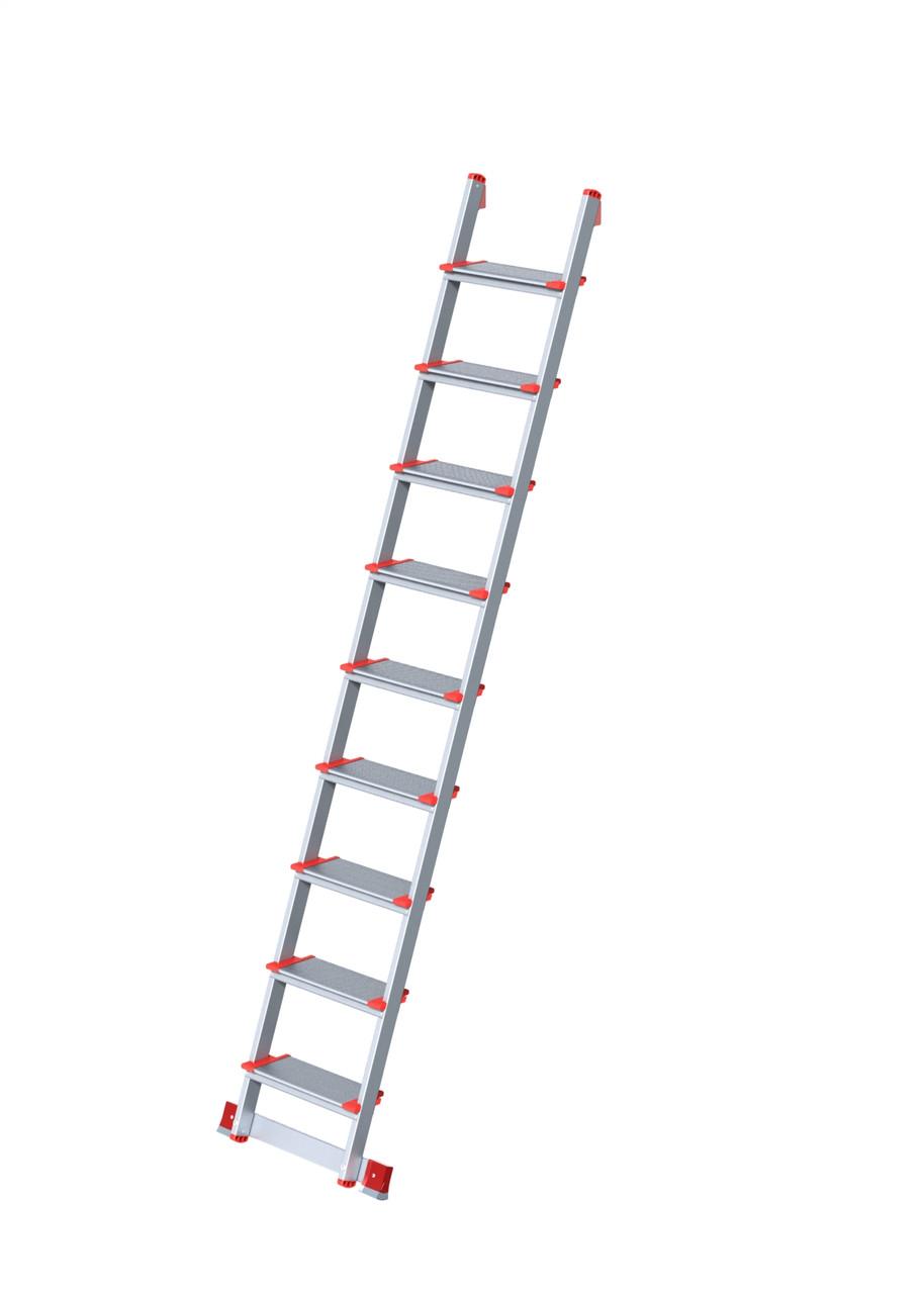 Лестница металлическая 9 ступеней  (2,2 м) (Nika)