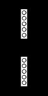 Железнодорожные знак Gd-16 поднять токоприемник на электропоезде