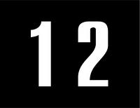 Железнодорожные знак Gd-39 знак нумерации опор контактной сети