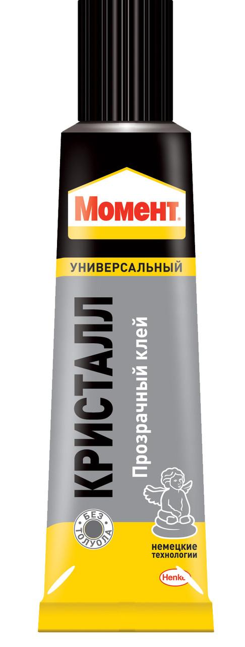 Универсальный контактный клей МОМЕНТ КРИСТАЛЛ
