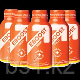 Энергетический напиток EBOOST ORANGE NATURAL ENERGY SHOT