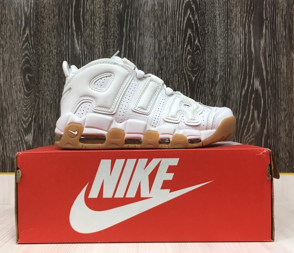 Кроссовки Nike Air More Uptempo (White)