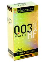 Презервативы OKAMOTO 003 REAL FIT
