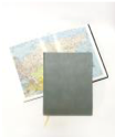 Ежедневник Lediberg недатированный, формат A5 Цвет: серебристый