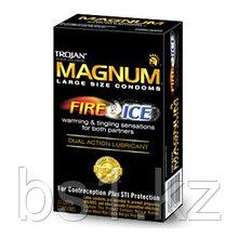 Презервативы Trojan Magnum Fire & Ice Condoms