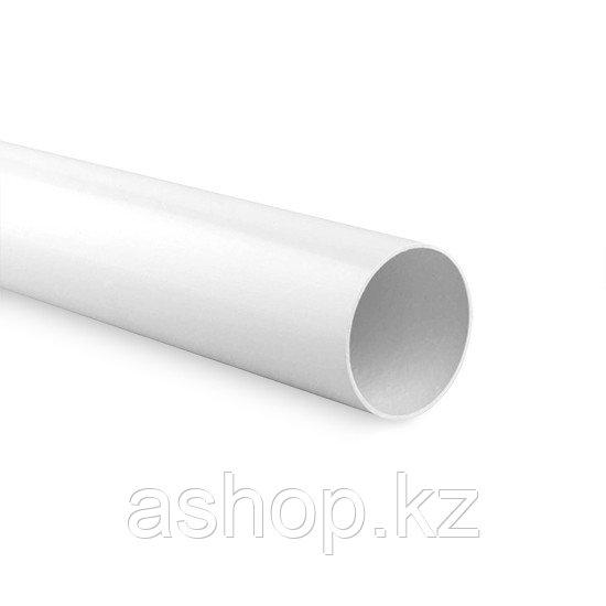 Труба гладкая электротехническая Рувинил 53200, Длина: 3 м, Материал: Поливинилхлорид самозатухающий, Упаковка