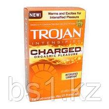 Презервативы Trojan Charged Orgasmic Condoms