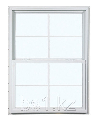 2024 300 Insulated Glass 4/4 White Single Hung Window