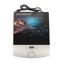 Плитка индукционная Endever Skyline IP-27, 2000 Вт, 8 уровней мощности, черно-серая, фото 2