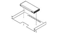 Монтажная полка Polycom Shelf for mounting the RealPresence Group 300 and 500 series codecs. (2215-06177-001)