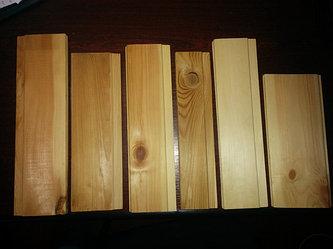 Евровагонка (Различные породы дерева, виды профиля и все возможные сорта)