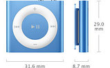 Apple iPod Shuffle 4g, 2Gb., фото 6