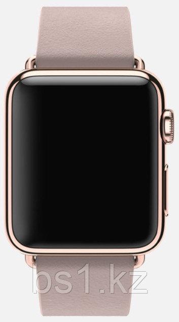 Apple Watch Edition, 38 mm. / Gold Modern Buckle Rose Grey