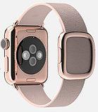Apple Watch Edition, 38 mm. / Gold Modern Buckle Rose Grey, фото 6