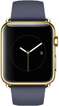 Apple Watch Edition, 42 mm. / Gold Classic Buckle Midnight Blue