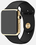 Apple Watch Edition, 38 mm. / Gold Sport Black, фото 3