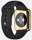 Apple Watch Edition, 38 mm. / Gold Sport Black, фото 4